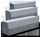 Kraweżniki granitowe