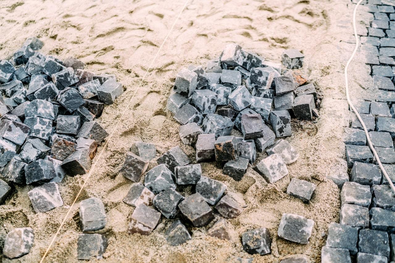 Granit Pylak - Układanie kostki granitowej